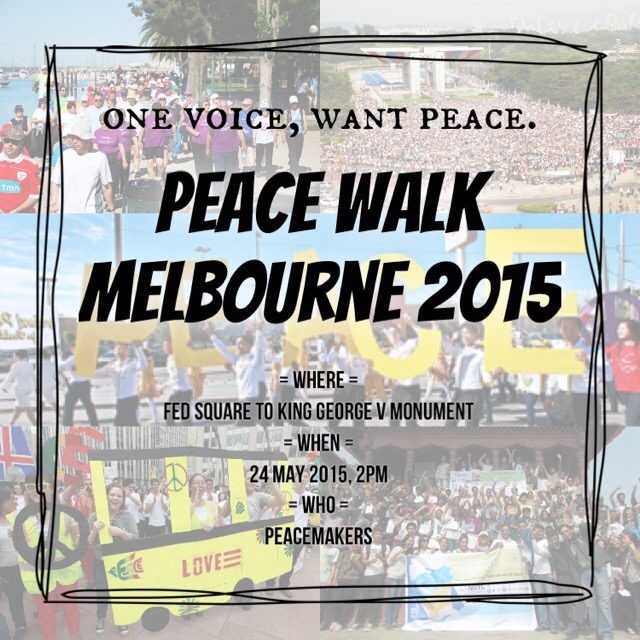 Peacewalk Melbourne